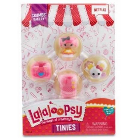 Lalaloopsy Tinies 4 Pack - Envío Gratuito