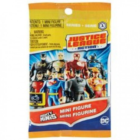 Mini Figuras - Mighty Justice League - Envío Gratuito