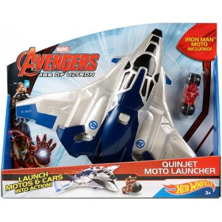 Avengers Jet LanzaAutos - Envío Gratuito