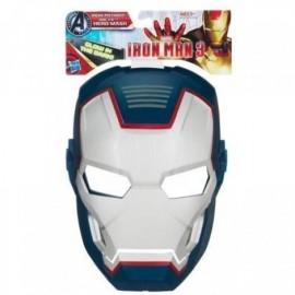 Iron Man Máscara Brillante