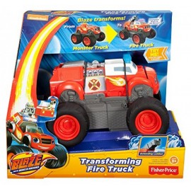 Blaze Camión de Bomberos - Fisher Price