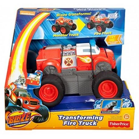 Blaze Camión de Bomberos - Fisher Price - Envío Gratuito