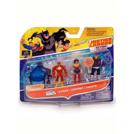 Justice League Minis - 3 Pack - Envío Gratuito