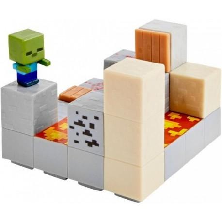 Minecraft - Set Figuras ( 1 de 4 ) - Envío Gratuito