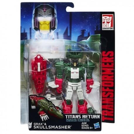 Transformers Titan Wars Deluxe - Hasbro - Envío Gratuito