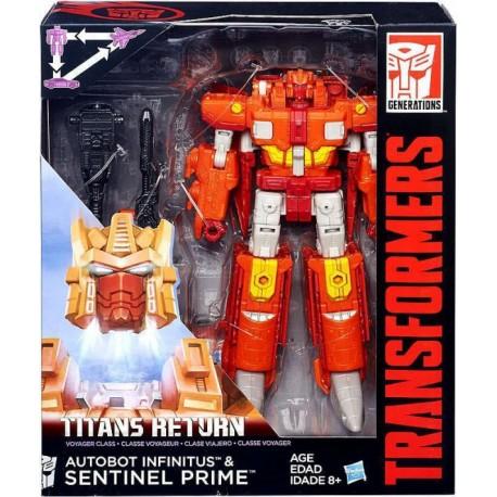 Transformers Titan Wars Voyager - Hasbro - Envío Gratuito