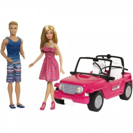 Barbie Auto de Playa - Envío Gratuito