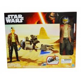 Star Wars-Figura y Vehículo