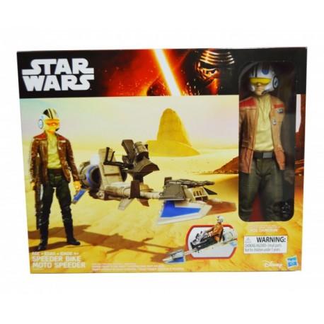 Star Wars-Figura y Vehículo - Envío Gratuito