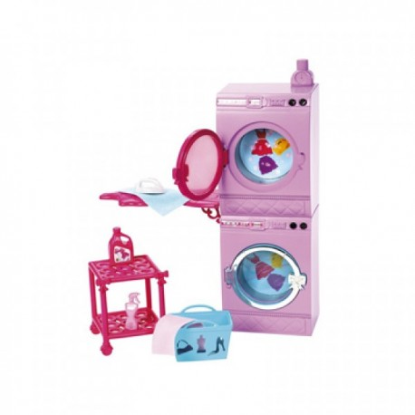 Barbie Surtido Pack Muebles - Envío Gratuito