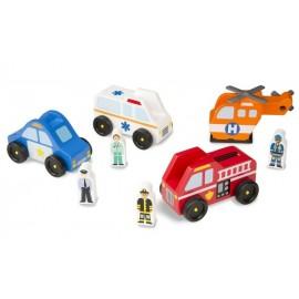 Set Vehículos de Emergencia - Envío Gratuito