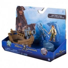 Barco de Lujo con Accesorios - Piratas del Caribe