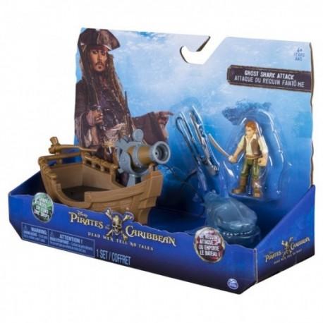 Barco de Lujo con Accesorios - Piratas del Caribe - Envío Gratuito