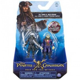Set 2 Figuras - Piratas del Caribe