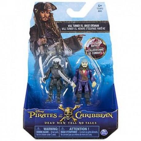 Set 2 Figuras - Piratas del Caribe - Envío Gratuito