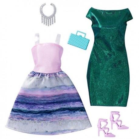 Barbie Surtido Modas 2 Pack - Envío Gratuito