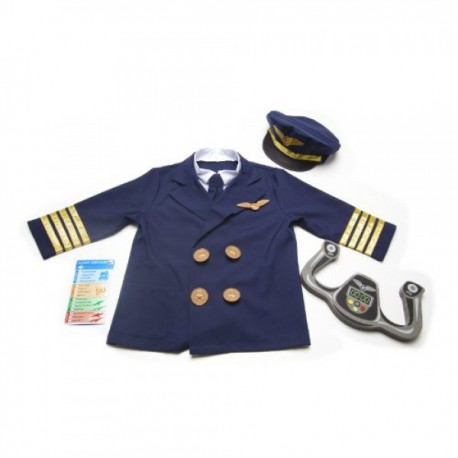 Disfraz Piloto Aviador - Envío Gratuito