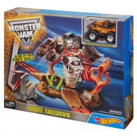 Hot Wheels Monster Jam Mision Pirata