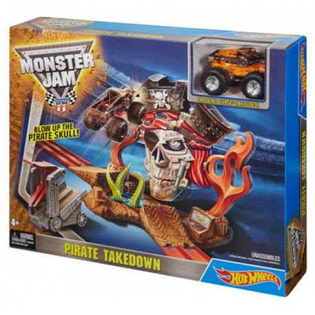 Hot Wheels Monster Jam Mision Pirata - Envío Gratuito