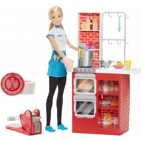 Barbie Chef de Pasta - Envío Gratuito