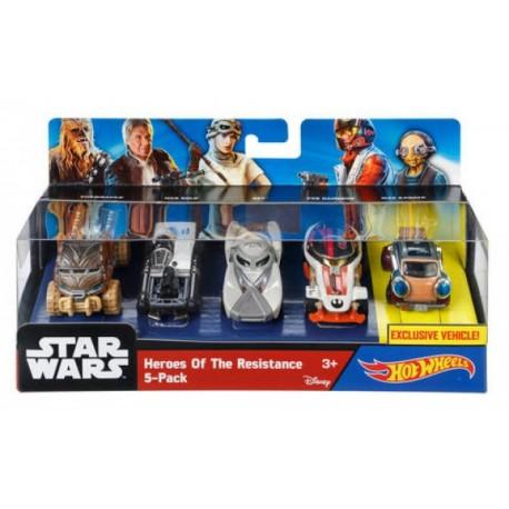 HW- Star Wars 5 Pack - Envío Gratuito