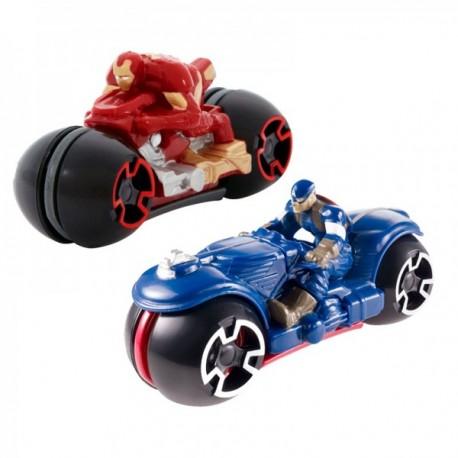 Surtido Motos Avengers- Hot Wheels - Envío Gratuito
