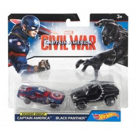 Paquete De Autos Personificados Marvel