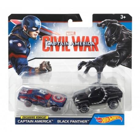 Paquete De Autos Personificados Marvel - Envío Gratuito