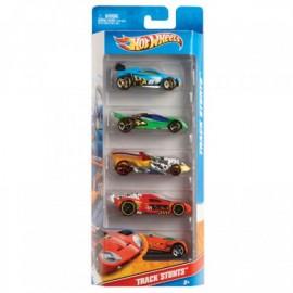 Super Paquete de 5 carros Hot Wheels