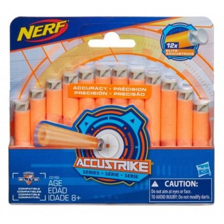 Nerf - 12 Dardos Accustrike - Envío Gratuito