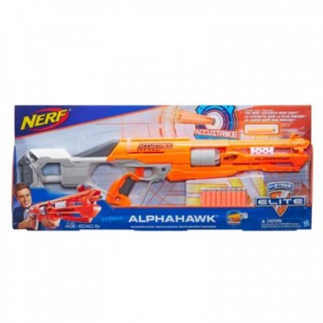 Nerf - Elite Alphahawk - Envío Gratuito