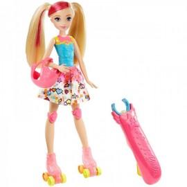 Barbie Patines Luminosos - Muñeca