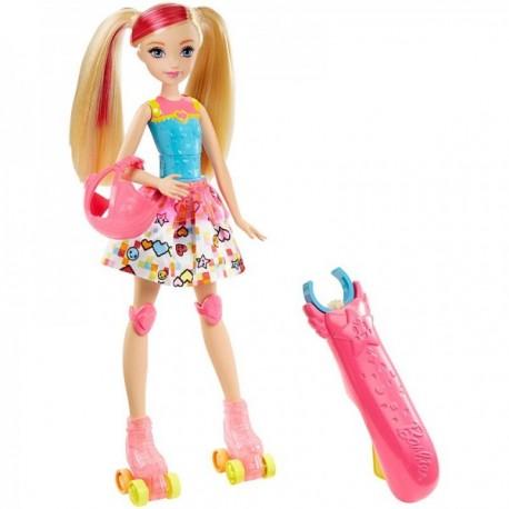 Barbie Patines Luminosos - Muñeca - Envío Gratuito