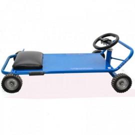 Carro Deslizador Vector Azul - Envío Gratuito