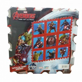 Tapete Avengers Armable - Envío Gratuito