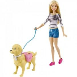 Barbie Paseo de Perrito - Mattel - Envío Gratuito
