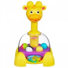 Playskool Poppin Park Giraffalaf Gira Bolitas - Envío Gratuito