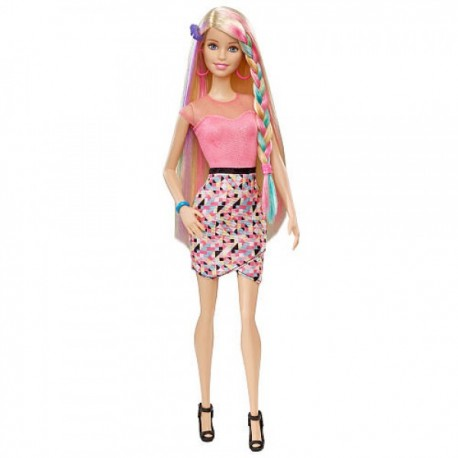Barbie Rainbow Hair - Envío Gratuito