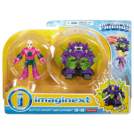 Imaginext Armadura Transformable - Envío Gratuito
