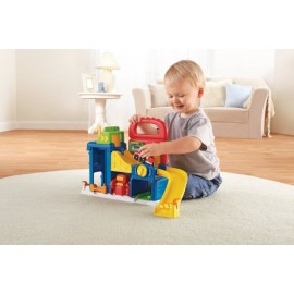 Fisher Price- Little People Wheelies Garage. - Envío Gratuito