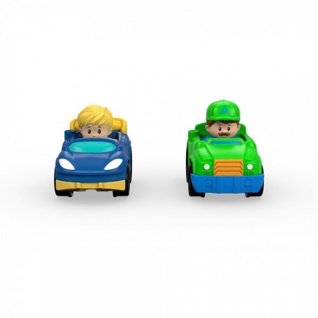 FP Little People Wheelies 2 pack - Envío Gratuito
