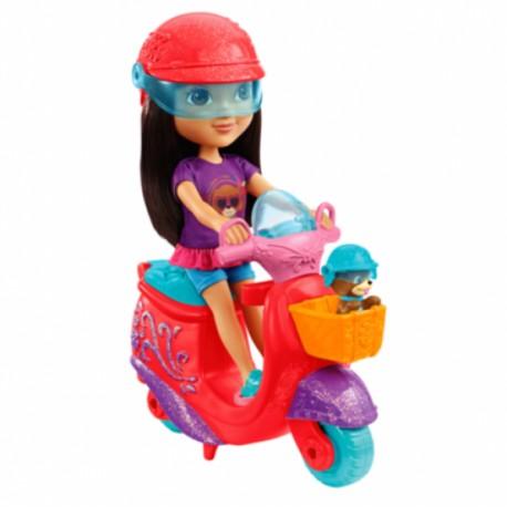 Dora y Perrito Aventura en Scooter - Envío Gratuito