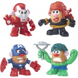 Papá Heroes Combinables - Marvel 4 Pack - Envío Gratuito