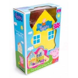 Peppa Pig Casa mas Figura - Envío Gratuito