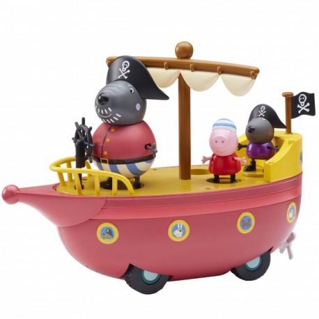 Peppa Pig Bote Pirata - Envío Gratuito