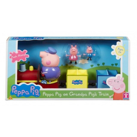 Peppa Pig Trenecito Del Abuelo - Envío Gratuito