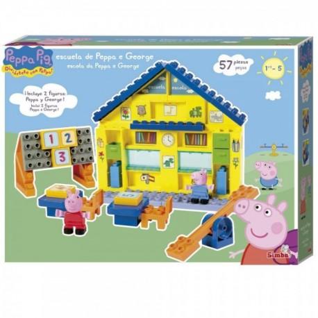 Escuela Peppa Pig Bloques de Construcción - Envío Gratuito