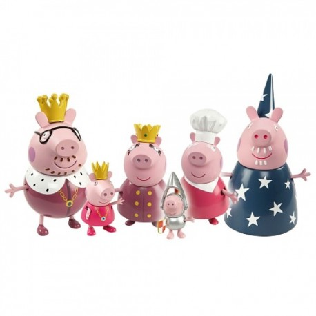 Peppa Pig Set Familia - Envío Gratuito