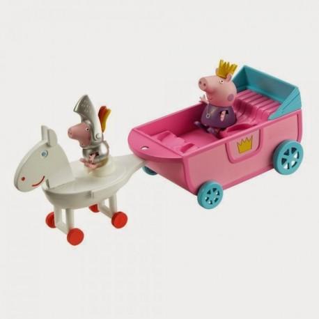 Peppa Pig Carruaje de Princesa - Envío Gratuito