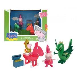 Peppa Pig Set Princesas y Dragones